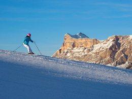 Piacere di sciare sulla Plose