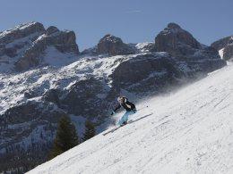 Esperienza totale dello sci a Plan de Corones