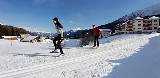 Imparare sci di fondo e godere l'inverno