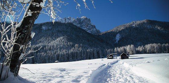 Vacanze invernali nelle Dolomiti di Sesto