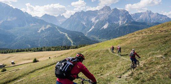 Have a break - Bike in the Dolomites