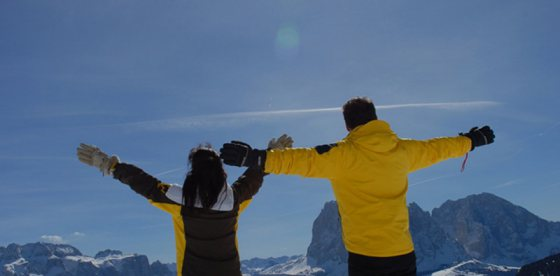 4 giorni inverno attivo nelle Dolomiti