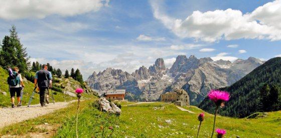 ...primo assaggio d'autunno nelle Dolomiti