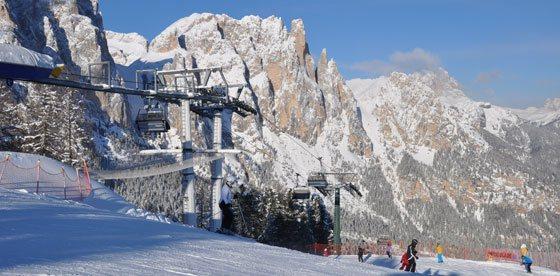 Safari sugli sci nelle Dolomiti