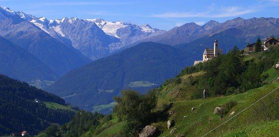 Breve soggiorno in montagna