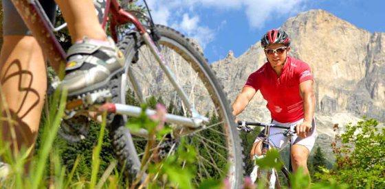 Le Dolomiti su due ruote