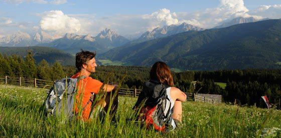 Sole e benessere in montagna