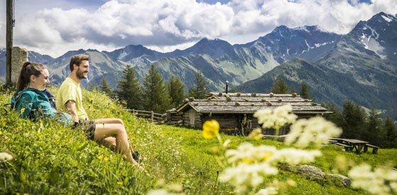 Rinfrescare in montagna